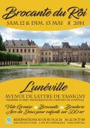 8e Brocante du Roi à Lunéville 54300 Lunéville du 12-05-2018 à 06:00 au 13-05-2018 à 18:00