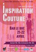 Inspiration Couture Salon de la Mode Bar-le-Duc