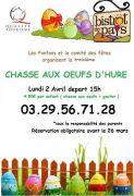 Chasse aux Oeufs de Pâques à Denipaire 88210 Denipaire du 02-04-2018 à 15:00 au 02-04-2018 à 16:00