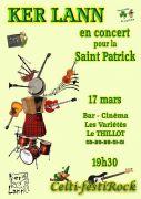 Concert Saint-Patrick à Le Thillot 88160 Le Thillot du 17-03-2018 à 19:00 au 17-03-2018 à 22:30