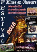 Festival de Chant Choral à Aumetz Mines en Choeurs 57710 Aumetz du 20-04-2018 à 20:30 au 22-04-2018 à 16:30