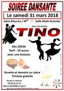 Soirée Dansante à Saint Maurice sur Moselle 88560 Saint-Maurice-sur-Moselle du 31-03-2018 à 20:30 au 01-04-2018 à 02:00