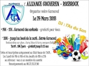 Carnaval Alliance Cocheren-Rosbruck  57800 Rosbruck du 24-03-2018 à 14:00 au 25-03-2018 à 06:00