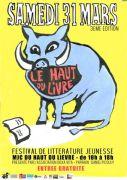 Festival Littérature Jeunesse Nancy Haut du Livre 54000 Nancy du 31-03-2018 à 10:00 au 31-03-2018 à 18:30