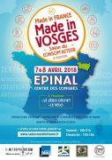 Salon Made in Vosges à Epinal 88000 Epinal du 07-04-2018 à 14:00 au 08-04-2018 à 18:00