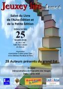 Salon du Livre à Jeuxey 88000 Jeuxey du 25-03-2018 à 10:00 au 25-03-2018 à 18:00