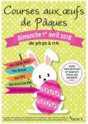 Courses aux Oeufs de Pâques à Nancy 54000 Nancy du 01-04-2018 à 09:30 au 01-04-2018 à 11:00