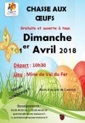 Chasse aux Oeufs à Neuves-Maisons 54230 Neuves-Maisons du 01-04-2018 à 10:30 au 01-04-2018 à 12:00