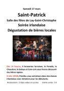 Saint-Patrick à Lay-Saint-Christophe 54690 Lay-Saint-Christophe du 17-03-2018 à 14:00 au 17-03-2018 à 23:59