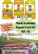 Marché de Printemps aux Serres Duval à Ceintrey 54134 Ceintrey du 29-04-2018 à 09:30 au 29-04-2018 à 18:00
