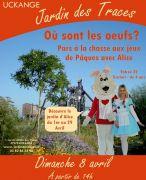 Chasse aux Oeufs au Jardin des Traces à Uckange 57270 Uckange du 08-04-2018 à 14:00 au 08-04-2018 à 18:30
