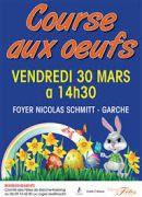 Course aux Oeufs de Pâques à Garche 57100 Thionville du 30-03-2018 à 14:30 au 30-03-2018 à 16:00