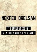 Concert Nekfeu Orelsan au Zénith de Nancy 54320 Maxéville du 12-07-2018 à 19:00 au 12-07-2018 à 22:00