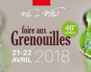 Foire aux Grenouilles de Vittel  88800 Vittel du 21-04-2018 à 08:00 au 22-04-2018 à 18:00