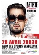Lartiste en Concert à Vandoeuvre 54500 Vandoeuvre-lès-Nancy du 28-04-2018 à 20:30 au 28-04-2018 à 23:00