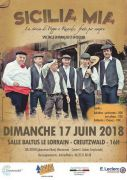 Spectacle Sicilia Mia à Creutzwald 57150 Creutzwald du 17-06-2018 à 16:00 au 17-06-2018 à 18:00