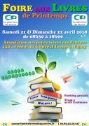 Foire aux Livres Caritative à Nancy 54000 Nancy du 21-04-2018 à 08:30 au 22-04-2018 à 18:00