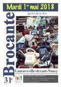 Brocante à Laneuveville-devant-Nancy 54410 Laneuveville-devant-Nancy du 01-05-2018 à 08:30 au 01-05-2018 à 18:00