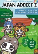 Salon Japan Addict au Zénith Strasbourg Europe Zénith Strasbourg Europe 1, allée du Zénith 67034 Eckbolsheim du 02-06-2018 à 10:00 au 03-06-2018 à 19:00