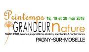 Festival Le Printemps Grandeur Nature à Pagny 54530 Pagny-sur-Moselle du 18-05-2018 à 10:00 au 20-05-2018 à 18:00