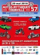 Salon d'autos mythiques et de motos de légendes à Thionville 57100 Thionville du 20-05-2018 à 09:00 au 20-05-2018 à 18:00