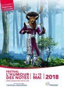 Festival L'Humour des Notes à Haguenau 67500 Haguenau du 05-05-2018 à 09:00 au 13-05-2018 à 16:00