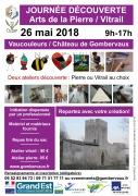 Journée Découverte Arts de la Pierre et Vitrail à Vaucouleur