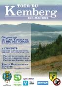 Tour du Kemberg à Saint-Dié-des-Vosges 88100 Saint-Dié-des-Vosges du 01-05-2018 à 08:00 au 01-05-2018 à 14:00