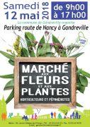 Marché aux Fleurs et aux Plantes  à Gondreville 54840 Gondreville du 12-05-2018 à 09:00 au 12-05-2018 à 17:00