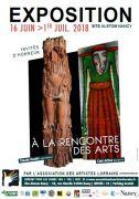 Salon des Artistes Lorrains au Site Alstom Nancy 54000 Nancy du 16-06-2018 à 14:00 au 01-07-2018 à 19:00