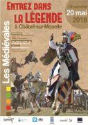 Les Médiévales à la Forteresse de Châtel-sur-Moselle 88330 Châtel-sur-Moselle du 19-05-2018 à 20:00 au 20-05-2018 à 20:00