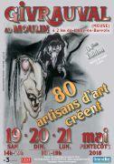80 Artisans d'Art Créent au Moulin Givrauval 55500 Givrauval du 19-05-2018 à 14:00 au 21-05-2018 à 19:00