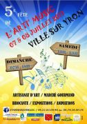 Fête de l'Arti'Music à Ville-sur-Yron