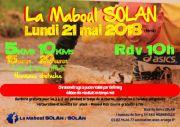 Courses Maboul Solan Base de Loisirs Solan Moineville 54580 Moineville du 21-05-2018 à 10:00 au 21-05-2018 à 16:00