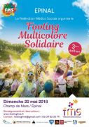 Footing Multicolore Solidaire à Épinal 88000 Epinal 20-05-2018 à 13:00