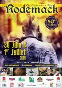 40ème Fête médiévale à Rodemack 57570 Rodemack du 30-06-2018 à 13:00 au 01-07-2018 à 17:30