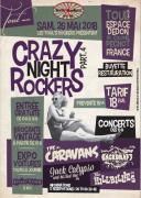 Crazy Night Rockers à Toul Brocante Vintage et Concert 54200 Toul du 26-05-2018 à 10:00 au 26-05-2018 à 23:59