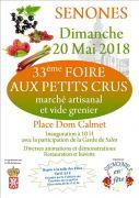 Foire aux Petit Crus et Marché Artisanal à Senones 88210 Senones du 20-05-2018 à 10:00 au 20-05-2018 à 19:00