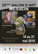 Salon d'Art de Messein 54850 Messein du 18-05-2018 à 10:00 au 21-05-2018 à 19:00