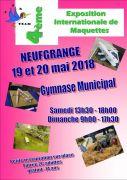 Exposition Internationale de Maquettes à Neufgrange 57910 Neufgrange du 19-05-2018 à 13:30 au 20-05-2018 à 17:30