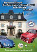 Rassemblement Alpine et Renault Sport à Saint-Max 54130 Saint-Max du 20-05-2018 à 07:30 au 20-05-2018 à 17:00