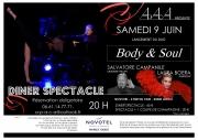 Dîner-Spectacle So Glamour à Laxou 54520 Laxou du 09-06-2018 à 20:00 au 09-06-2018 à 23:59