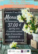 Fête des Mères Restaurant Gérardmer Lido 88400 Gérardmer du 27-05-2018 à 10:00 au 27-05-2018 à 15:00