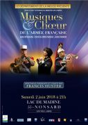 Musiques et Choeur de l'Armée Française à Nonsard 55210 Nonsard-Lamarche du 02-06-2018 à 21:00 au 02-06-2018 à 23:00