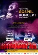 Festival Gospel Koncept à Metz 57000 Metz du 26-05-2018 à 19:00 au 27-05-2018 à 21:00