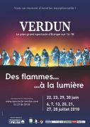 Spectacle Des Flammes à la Lumière Verdun 55100 Verdun du 22-06-2018 à 21:00 au 28-07-2018 à 23:59