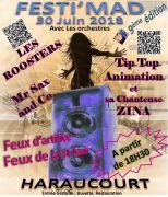 Festimad Fête de la Musique à Haraucourt
