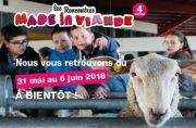 Rencontres Made in Viande en Lorraine Meurthe-et-Moselle, Vosges, Meuse, Moselle du 31-05-2018 à 08:00 au 06-06-2018 à 19:00