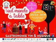 Toul'Monde à Table 20 ans à Nancy 54000 Nancy du 23-06-2018 à 11:00 au 24-06-2018 à 21:00