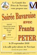 Soirée Bavaroise Novéant-sur-Moselle 57680 Novéant-sur-Moselle du 29-09-2018 à 20:30 au 30-09-2018 à 04:00
